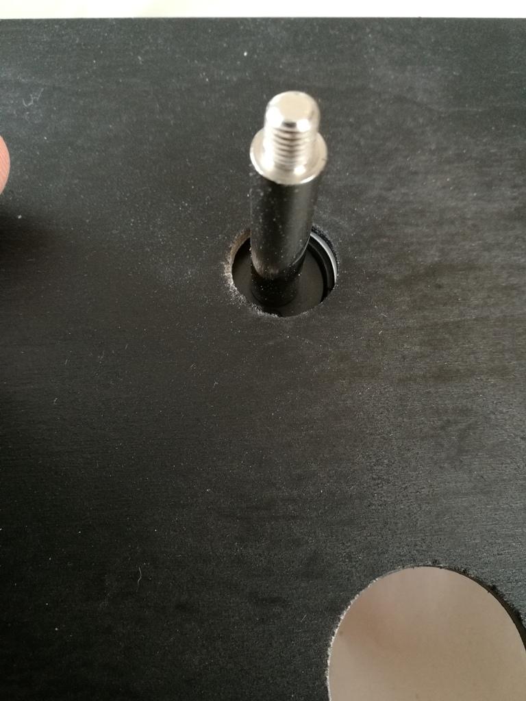 genug Platz um den Stick zu bewegen