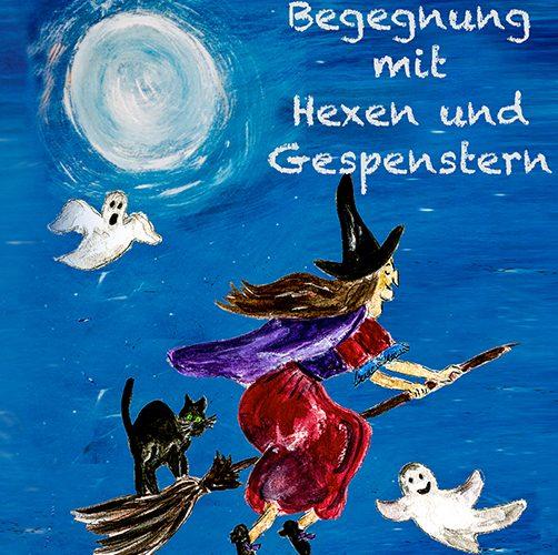 """Cover """"Begegnungen mit Hexen und Gespenstern"""""""